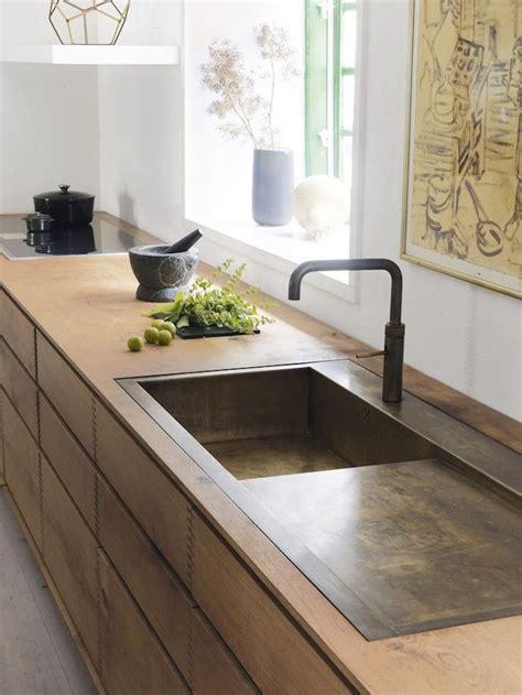 brass kitchen sink 17 mejores ideas sobre fregadero de concreto en