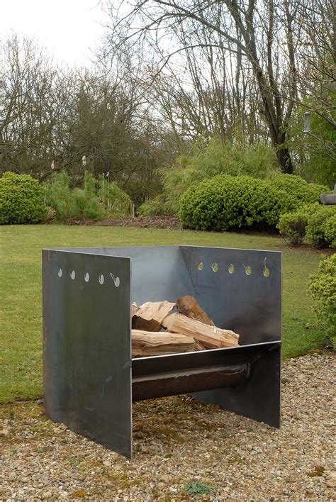 steel firepit superchunk pit from magmafirepits durable 5mm steel