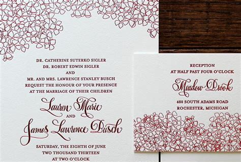 Wedding Announcement Protocol by Invitation Wedding Etiquette Chatterzoom