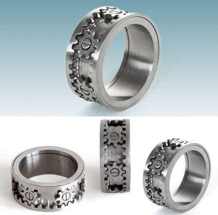 epic wedding band 20 best ideas about gear ring on steunk rings buy rings and stainless steel rings