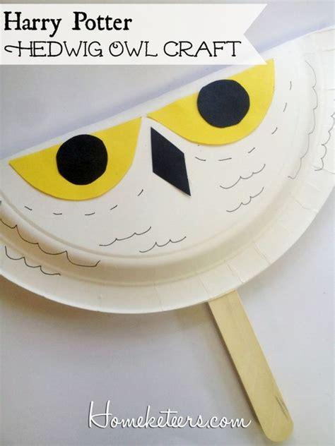 harry potter crafts for harry potter hedwig owl fan pinned by www myowlbarn
