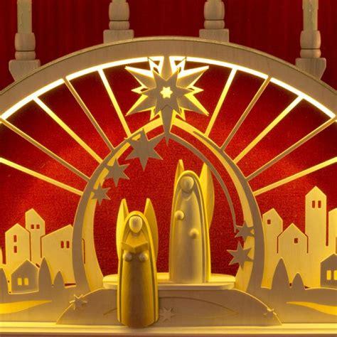 schwibbogen beleuchtung seidel schwibbogen engel mit led beleuchtung holzkunst