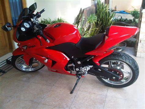 Penutup Knalpot Motor modifikasi kawasaki 250 knalpot r9 terbaru 2012 srj modification bikerz