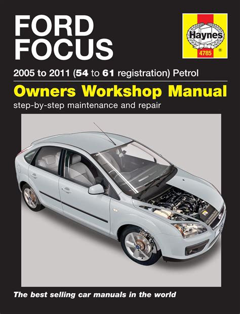 auto manual repair 2011 ford focus navigation system ford focus 1 4 1 6 1 8 2 0 petrol 05 11 54 61 reg haynes workshop repair manual