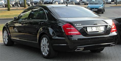 file mercedes s 350 4matic l v221 facelift rear 20100710
