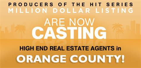 high end real estate agent high end real estate agent oc real estate agents casting