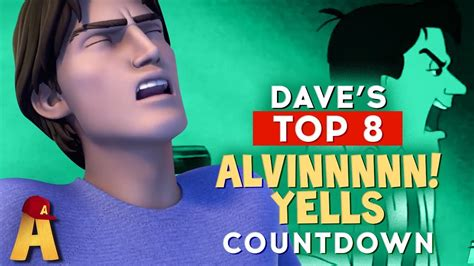 Alvin Top top 8 quot alvin quot yells alvin and the chipmunks
