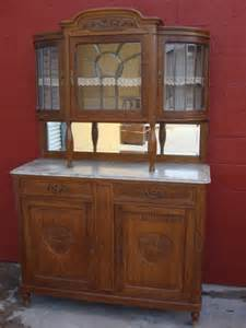 Buffet Tables And Hutches Antique Furniture Antique Carved Buffet Hutch