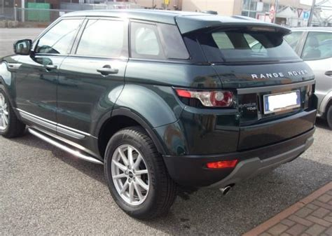 dark green range landrover range rover evoque 06 2012 dark green black