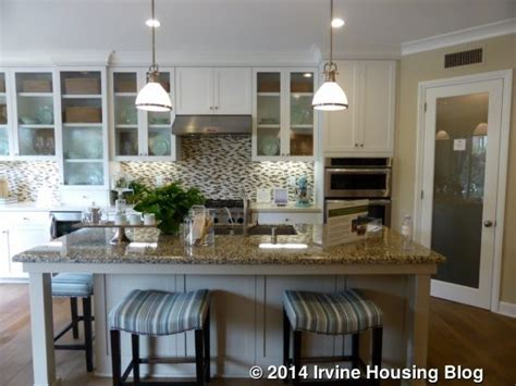 Kitchen Island With Seating On 2 Sides A Review Of The Terrazza Tract In Orchard Irvine