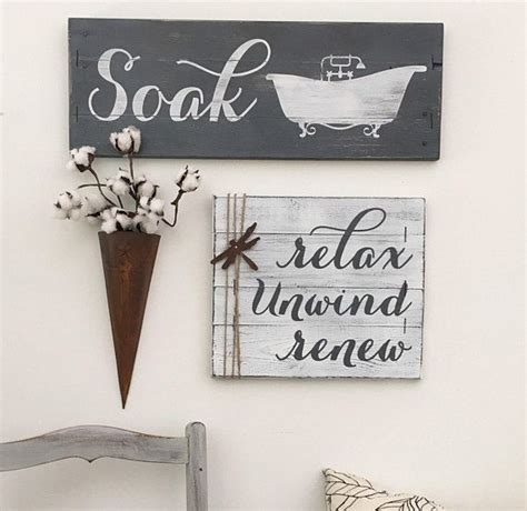 bathroom soak sign 25 best ideas about bathroom signs on pinterest