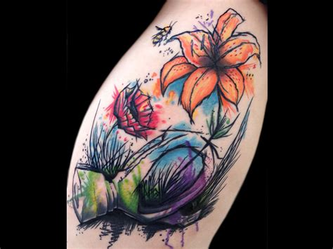 watercolor tattoo richmond watercolor gasmaks 1024x768
