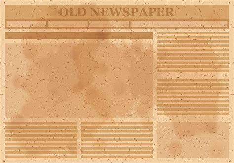 old newspaper layout vector download free vector art