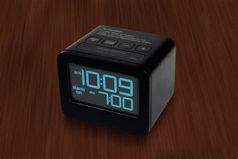 lcd cube alarm clock doubletree at home