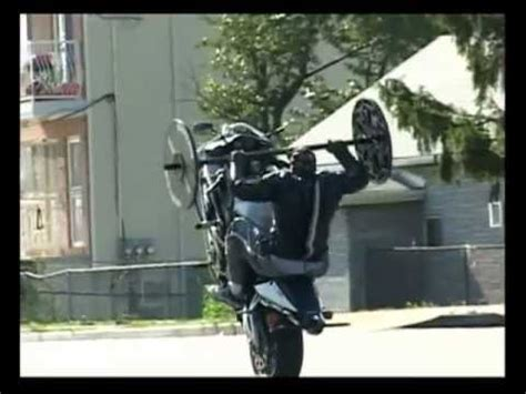 bench press wheelie cbr 954rr youtube