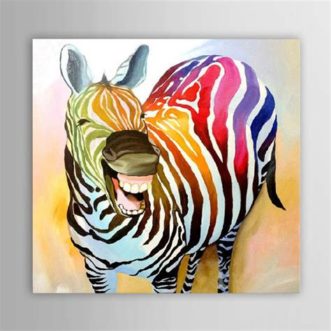oil paintings printing for sale zebra canvas prints modern aliexpress com buy hand painted modern abstract
