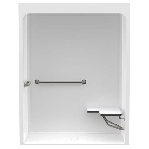 Acrylic Grab Bars For Shower by Aquatic Accessible Smooth Wall Cast Acrylic 60in X 36in