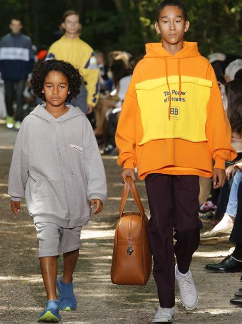 walk the balenciaga runway at fashion week poster child magazine