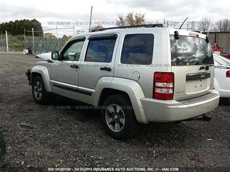 Jeep Liberty Road Parts Used 2008 Jeep Liberty Front Liberty Fender Part