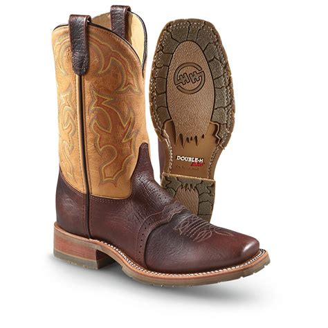 square toe mens cowboy boots s h boots 174 domestic square toe work western