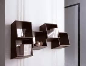 Designer Bookshelves Modern Shelving by Repisas De Madera Y Modernas Para La Pared Espaciohogar Com