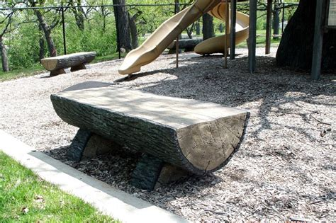 how to build log bench log bench build it with wood pinterest