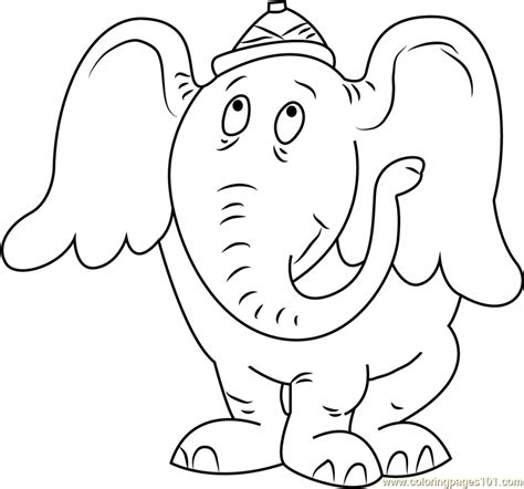 coloring pages horton the elephant horton hatches the egg coloring sheet coloring pages