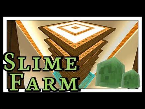 tutorial slime farm hostile mob farms study of minecraft 1 12 fun farms xv