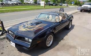 Pontiac Trans Am Bandit The Peep 1978 Pontiac Trans Am Se Quot Bandit Edition Quot