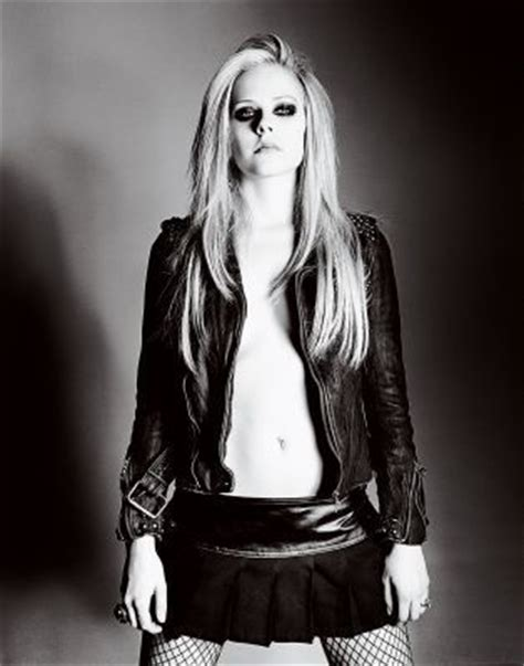 Avril Lavigne In Blender by Max Abadian Photoshoot Flare 2007 Avril Lavigne Photo
