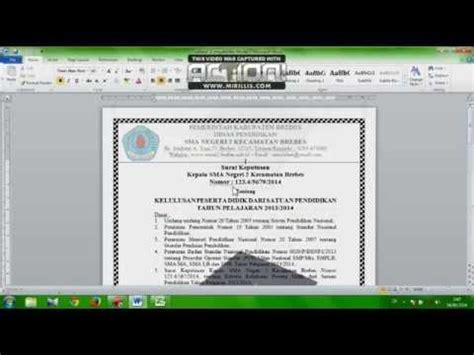 membuat sertifikat mail merge tutorial membuat piagam sertifikat surat keputusan atau