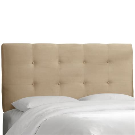 microsuede headboard skyline furniture upholstered king headboard premier