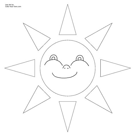 sun coloring page pdf sun printable coloring pages