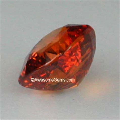 Orange Sapphire 6 30ct 4 3 carat orange sapphire top gem quality