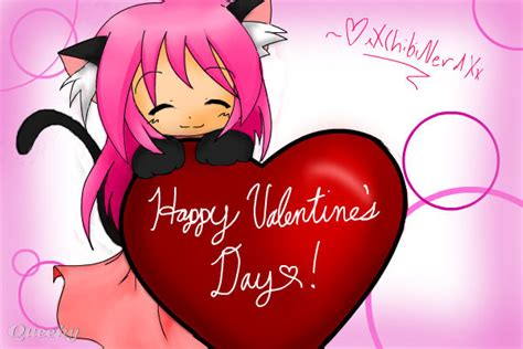 anime valentines day happy s day an anime speedpaint drawing by