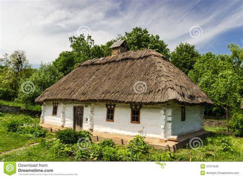 Traditional Farmhouse Plans Ukrainian Old Farmhouse Royalty Free Stock Images Image