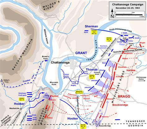 Chattanooga Records November 25 1863 Conclusion Of The Battle Seven Score And Ten