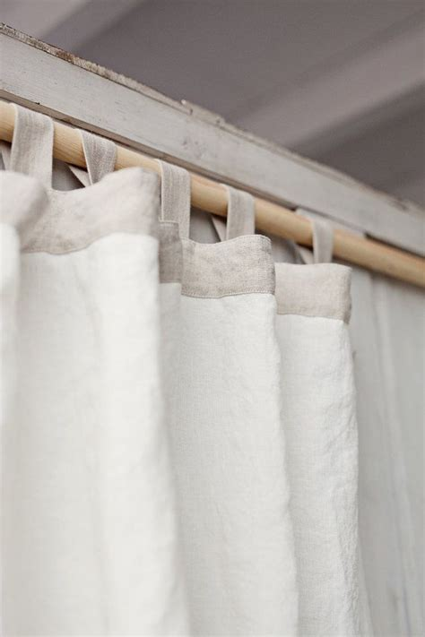 tab top linen curtains best 25 white linen curtains ideas on pinterest white