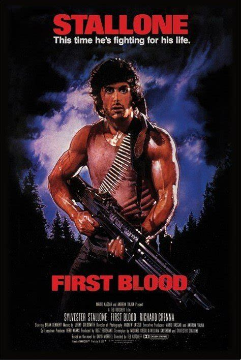 film de rambo 1 rambo first blood poster sold at europosters