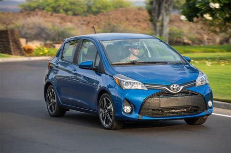 2018 toyota yaris specs and review