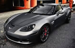 matte black chevrolet corvette z06