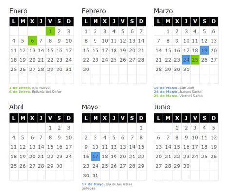 Calendario Xunta 2015 Calendario Laboral Xunta 2016 Calendar Template 2016