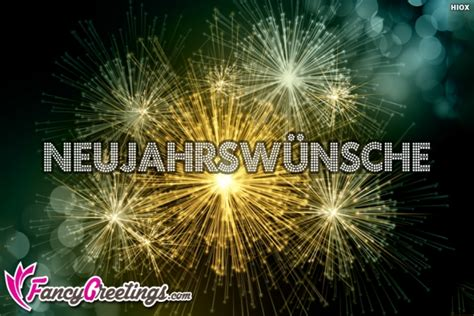 new year greetings in new year wishes in german