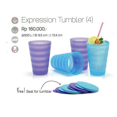 Terbaik Outdoor Tumbler 1 Tupperware expression tumbler tupperware indonesia promo terbaru