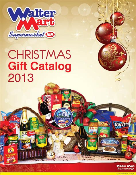 waltermart christmas gift catalog 2013 by mary rose sanico