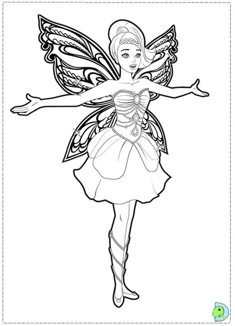 Free Coloring Pages Of Barbie Mariposa Mariposa Coloring Pages