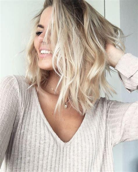 just below collar bone blonde hair styles 25 best ideas about wavy hairstyles tutorial on pinterest