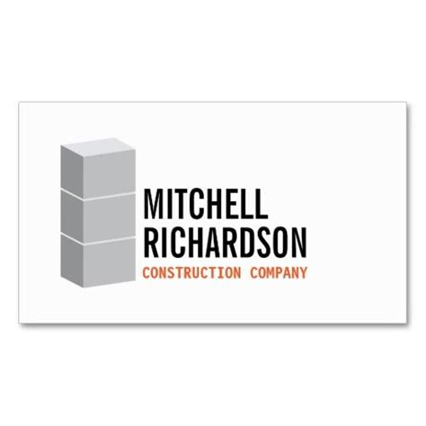 gray blocks logo construction builder contractor business