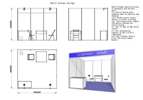 booth design guidelines shell scheme booth malaysia variety standard shell
