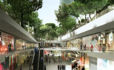 mvrdv unveils plans for an underground shopping mall